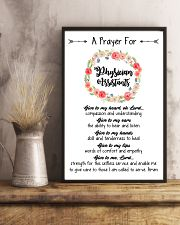 A prayer for Physician Assistants 11x17 Poster lifestyle-poster-3