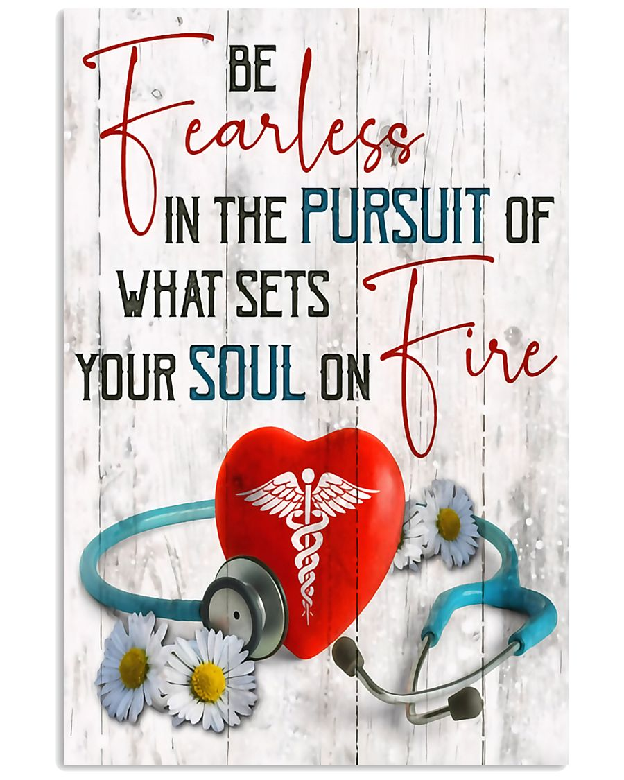 Medical Assistant - Be fearless  11x17 Poster