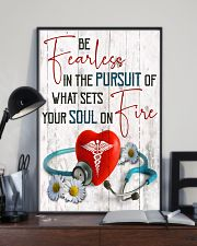 Medical Assistant - Be fearless  11x17 Poster lifestyle-poster-2