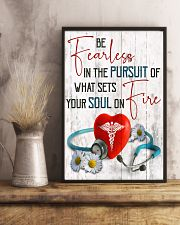 Medical Assistant - Be fearless  11x17 Poster lifestyle-poster-3