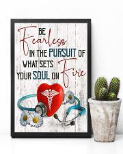 Medical Assistant - Be fearless  11x17 Poster lifestyle-poster-8