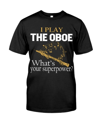 I play the Oboe - What's your superpower