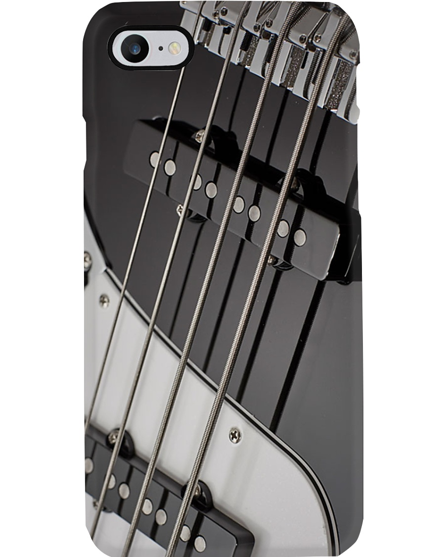 Bass Guitar Art Strings Phone Case