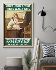 Pianist A Girl Who Really Loved Dogs And Piano 11x17 Poster lifestyle-poster-1