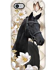 Horse Girl - Black Horse Phone Case i-phone-7-case