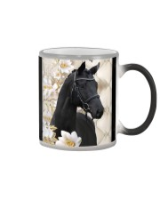Horse Girl - Black Horse Color Changing Mug thumbnail