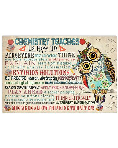 Chemist Chemistry teaches us