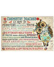 Chemist Chemistry teaches us 17x11 Poster front