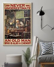 Chemistry Never Underestimate An Old Man 11x17 Poster lifestyle-poster-1