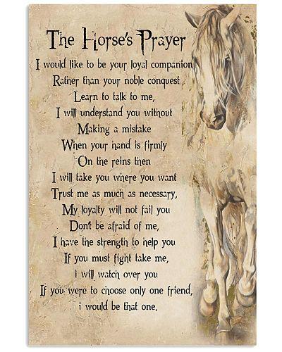 The Horse's Prayer Horse Girl's Gift