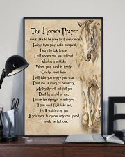 The Horse's Prayer Horse Girl's Gift 11x17 Poster lifestyle-poster-2