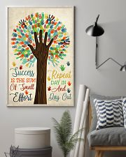 Teacher Success Is The Sum Of Small Effort 11x17 Poster lifestyle-poster-1