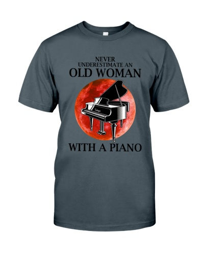 Piano Never Underestimate Old Woman With A Piano
