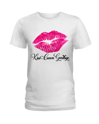 Breast cancer awareness Kiss cancer goodbye