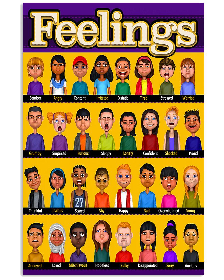 Social Worker Feelings 11x17 Poster
