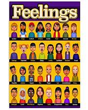 Social Worker Feelings 11x17 Poster front