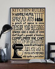 Baking Kitchen Rules Poster 11x17 Poster lifestyle-poster-2
