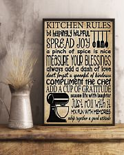 Baking Kitchen Rules Poster 11x17 Poster lifestyle-poster-3