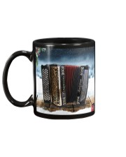 Accordion Christmas  Mug back