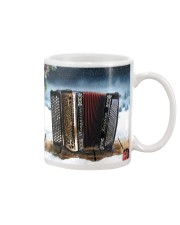 Accordion Christmas  Mug tile