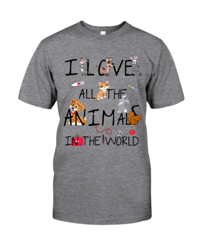 Veterinarian I Love All The Animals In The World