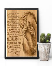 Horse Girl I have you in my heart 11x17 Poster lifestyle-poster-8