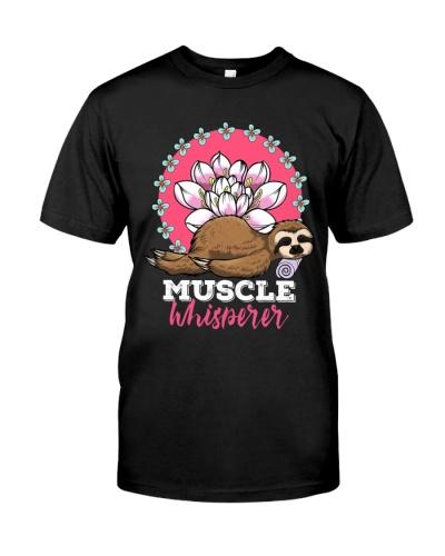 Massage Therapist Muscle Whisperer