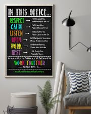 Physical Therapy We Work Together To Figure It Out 11x17 Poster lifestyle-poster-1