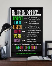Physical Therapy We Work Together To Figure It Out 11x17 Poster lifestyle-poster-2
