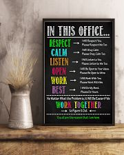 Physical Therapy We Work Together To Figure It Out 11x17 Poster lifestyle-poster-3