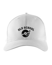 DJ - Old School Embroidered Hat front