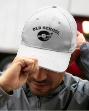 DJ - Old School Embroidered Hat garment-embroidery-hat-lifestyle-01