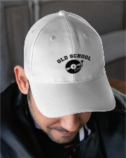 DJ - Old School Embroidered Hat garment-embroidery-hat-lifestyle-02