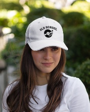 DJ - Old School Embroidered Hat garment-embroidery-hat-lifestyle-07
