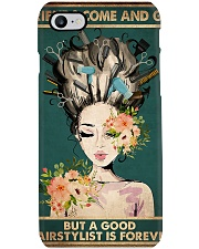 Hairdresser A Good Hairstylist Is Forever Phone Case thumbnail