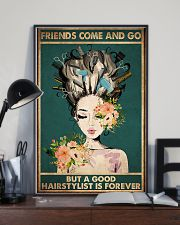 Hairdresser A Good Hairstylist Is Forever 11x17 Poster lifestyle-poster-2