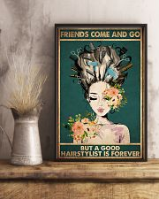 Hairdresser A Good Hairstylist Is Forever 11x17 Poster lifestyle-poster-3