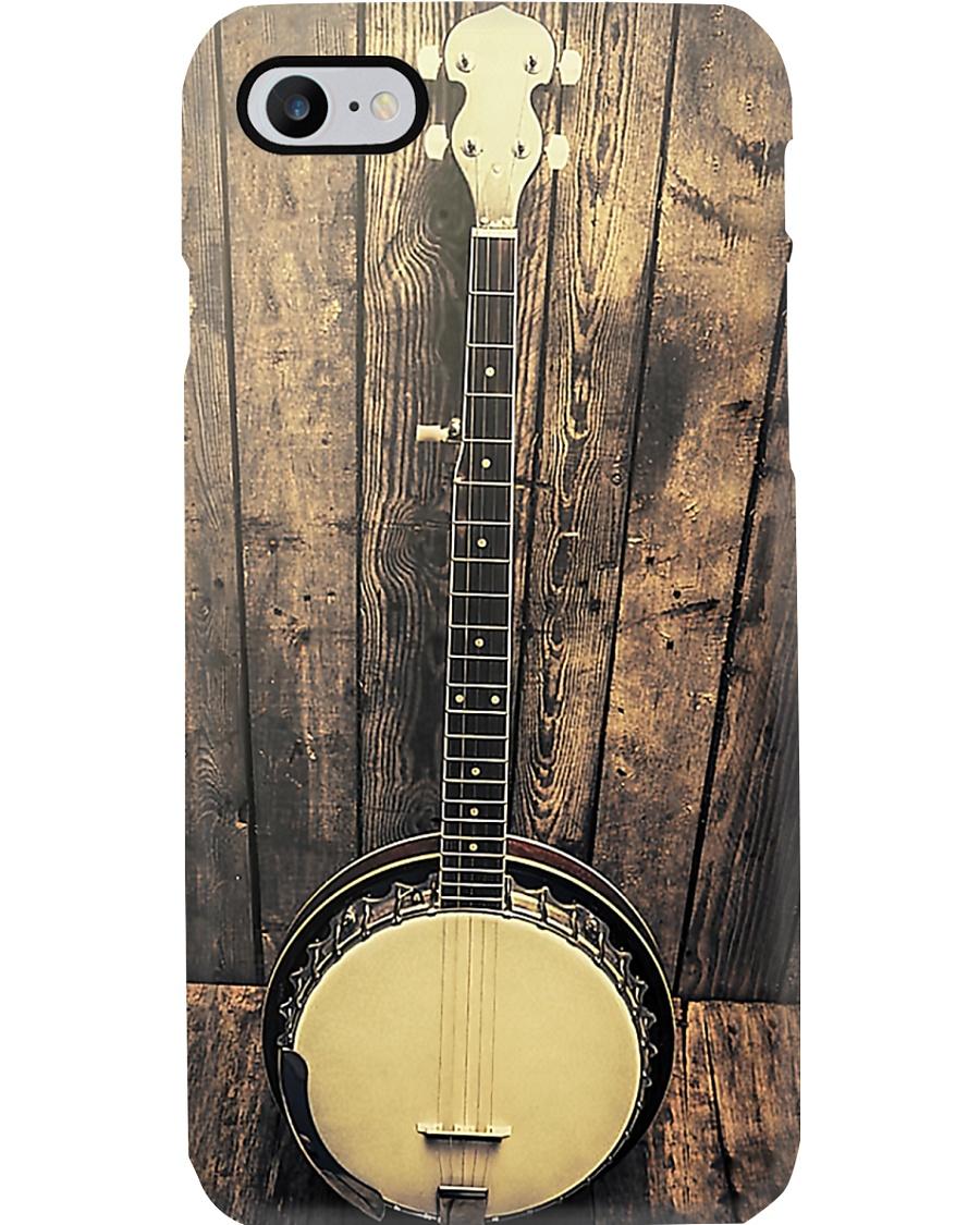 Vintage Bluegrass Banjo Phone Case