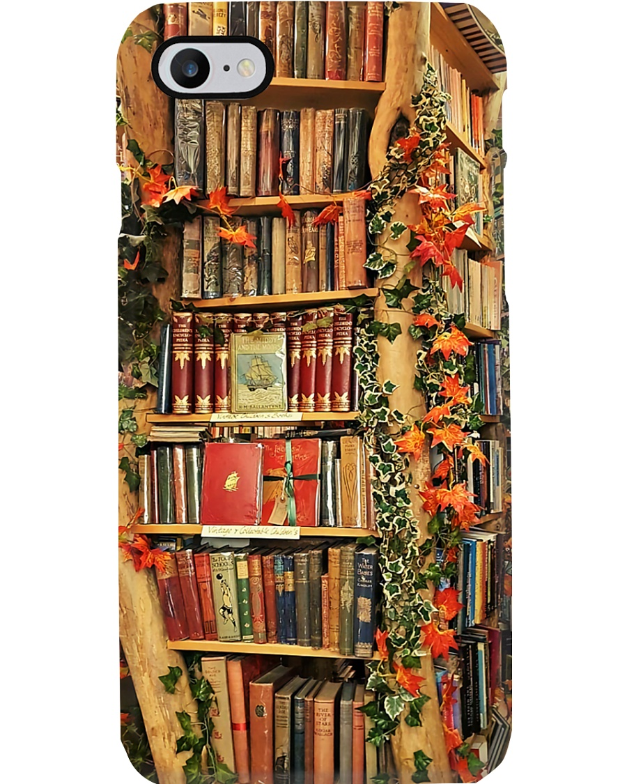 Librarian Book Tree Phone Case