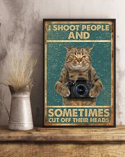 Shoot People Photographer 11x17 Poster lifestyle-poster-3