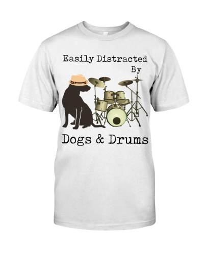Drummer Easily Distracted By Dogs And Drums
