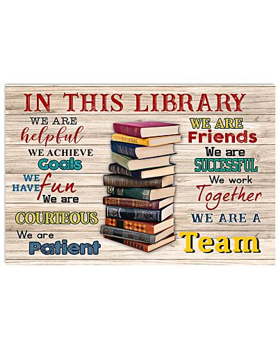 Librarian We Are A Team