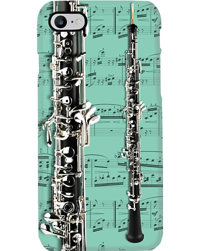 Oboe with music sheet