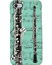 Oboe with music sheet Phone Case i-phone-7-case