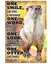 Otter Change Your Life 16x24 Poster front