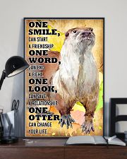Otter Change Your Life 16x24 Poster lifestyle-poster-2