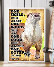 Otter Change Your Life 16x24 Poster lifestyle-poster-4