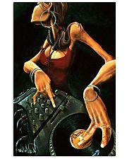 DJ Girl Art 11x17 Poster front