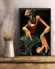 DJ Girl Art 11x17 Poster lifestyle-poster-3