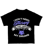 Drummer Therapy  All-over T-Shirt back